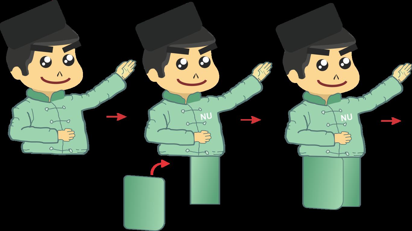 Membuat Kartun Santri Bagian Kedua | Siswapedia