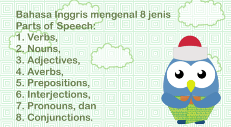 Fungsi 8 Jenis dan Example Parts of Speech